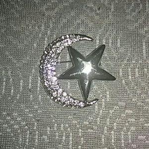 🆕 Islamic silver hijab pin brooch